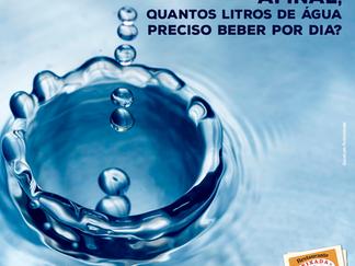 Afinal, quantos litros de água preciso beber por dia?