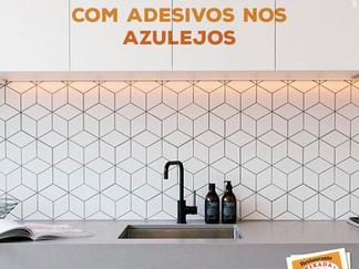 Renove sua cozinha com adesivos nos azulejos
