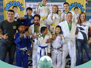 Equipe de judô de Jaguariúna se destaca em competição realizada na cidade de Paulínia