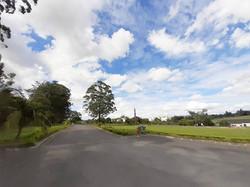 Rua de acesso aos setores dos jázigos e ao crematório