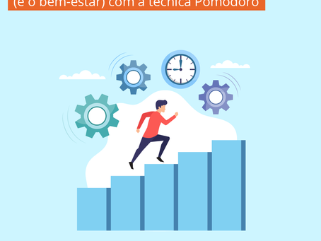 Melhore a sua produtividade (e o bem-estar) com a técnica Pomodoro