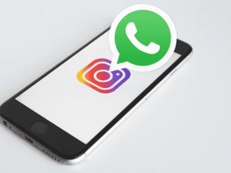 Como colocar o link do Whatsapp no Instagram em 4 passos!