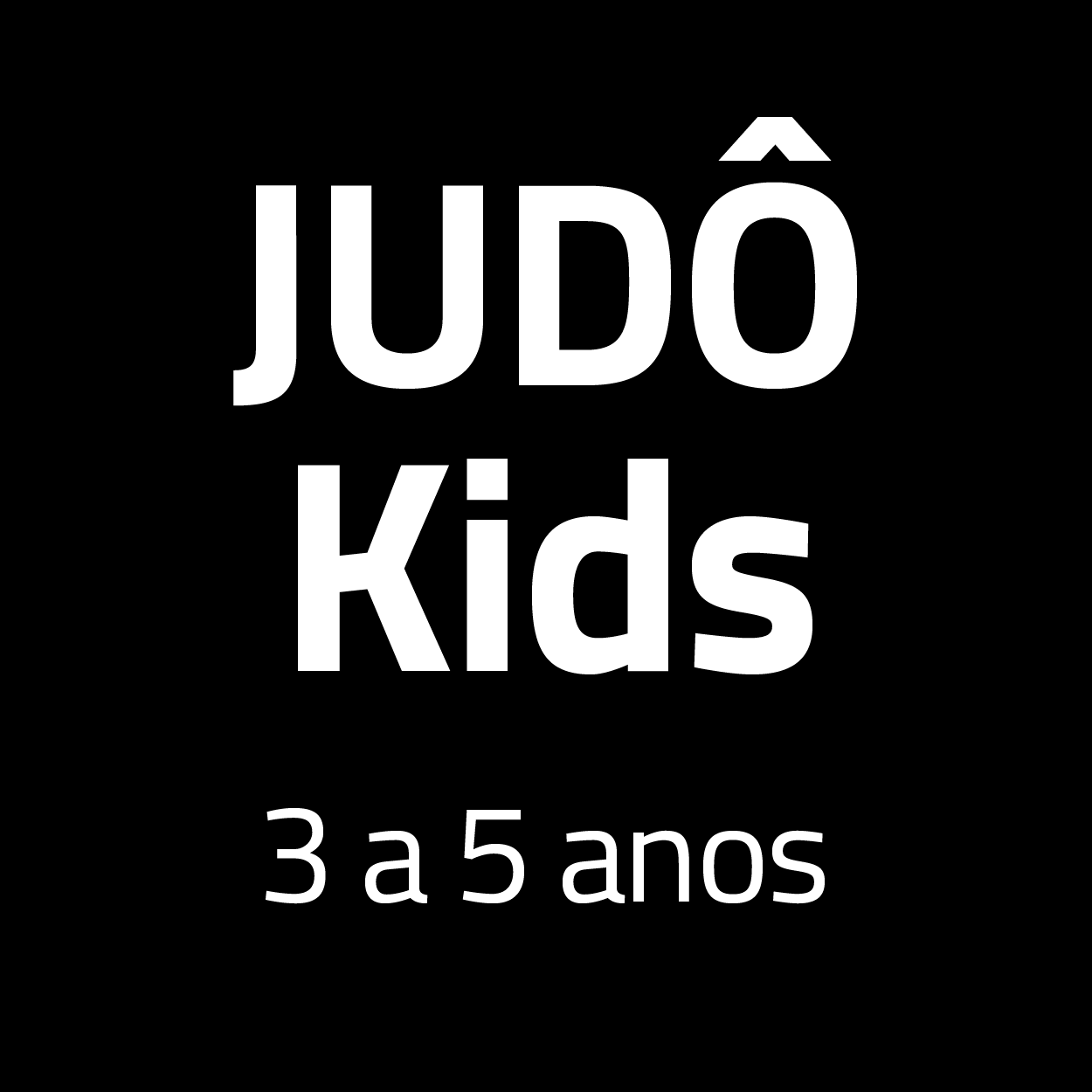 Judô Kids 3 à 5 anos