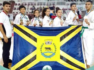 Jaguariúna novamente no Pódio com o Taekwondo: cinco medalhas de ouro e três de prata