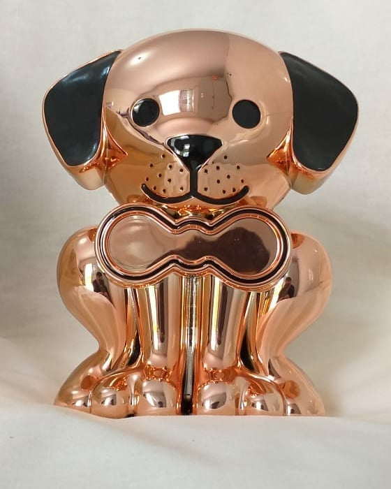 Urna com porta objetos - Cachorro