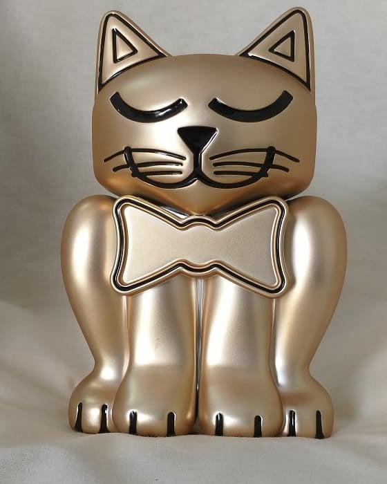 Urna com porta objetos - Gato