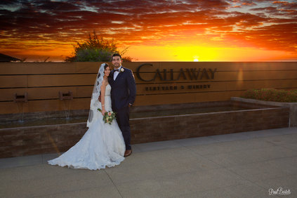 Callaway Winery Temecula Wedding photo