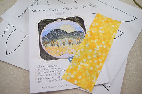 Booklet Only Summer Sweet II Pattern