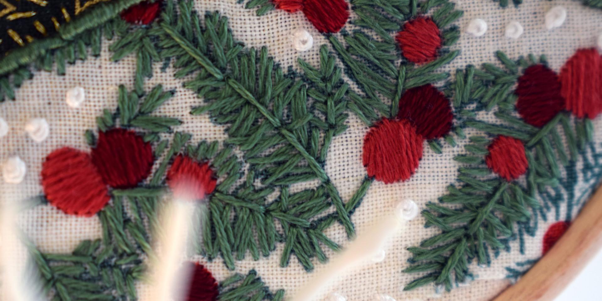 Christmas Decoration Hoop