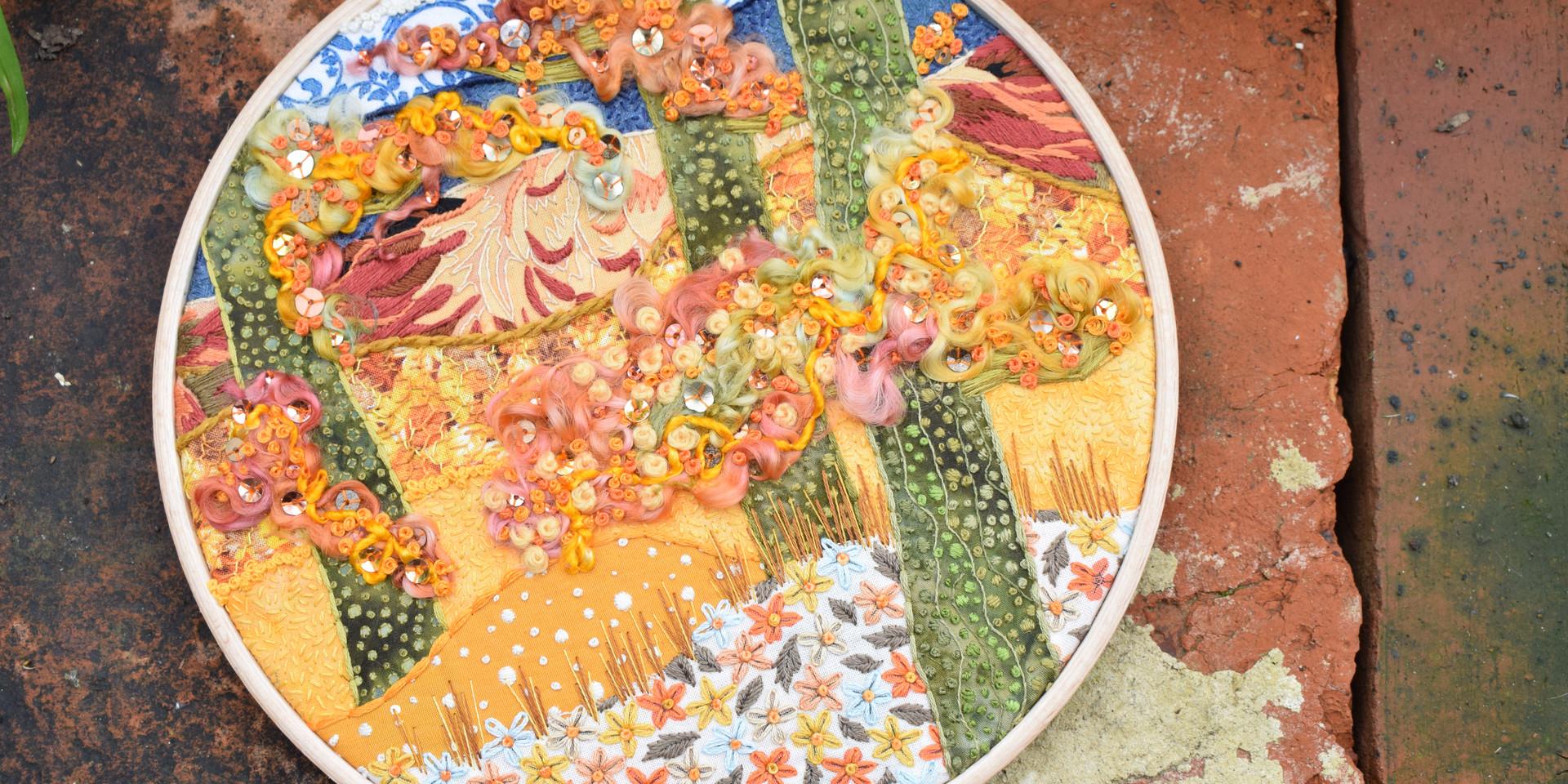 Autumn Madness Stitchscape