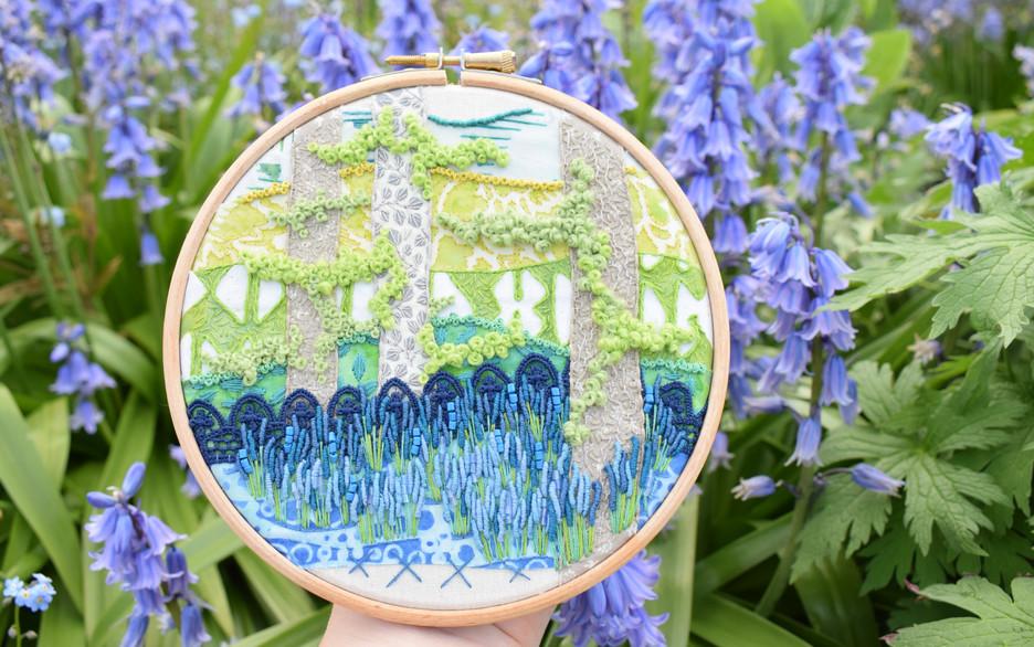 Bluebell Garden (Lace Version)
