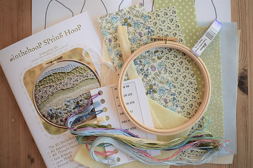 #inthehoop Spring Stitchscape Embroidery Kit