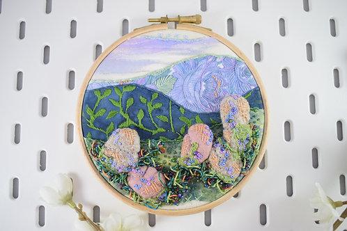 Tourmaline Peak Original Stitchscape