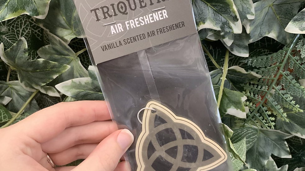 Triquetra Vanilla Car Air Freshener