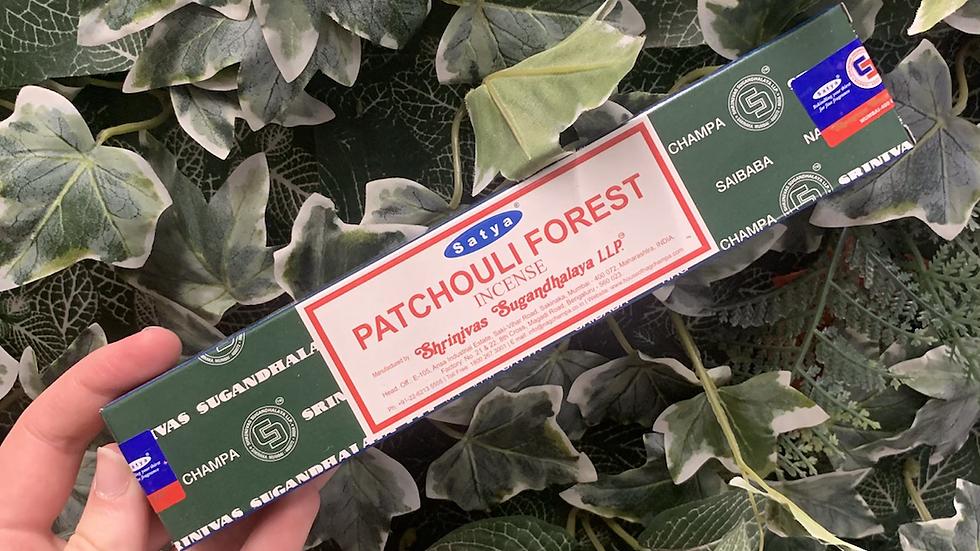 Patchouli Forest Incense