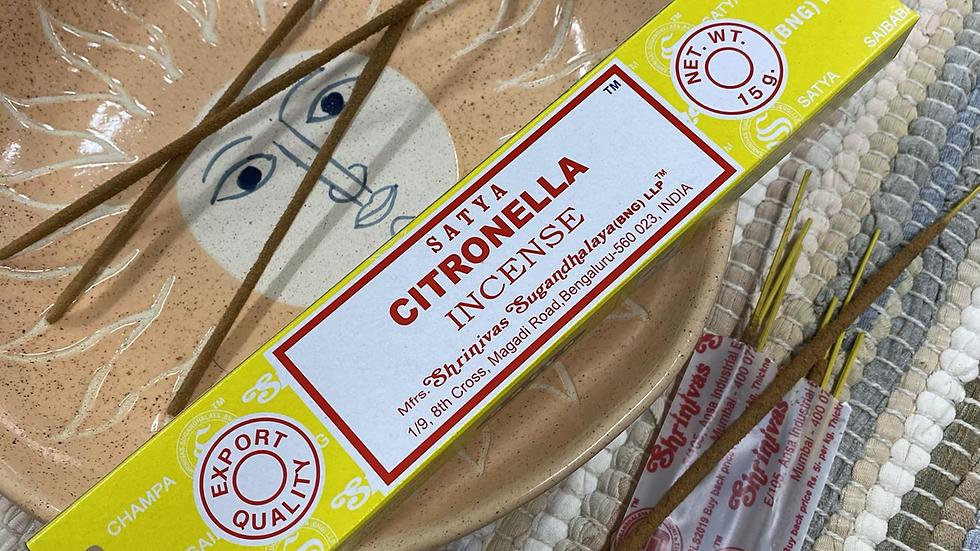 Satya Citronella Incense Sticks
