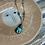 Thumbnail: VINTAGE Silver Abalone Necklace Pendant