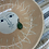 Thumbnail: VINTAGE Sterling Silver Green Aventurine Pendant