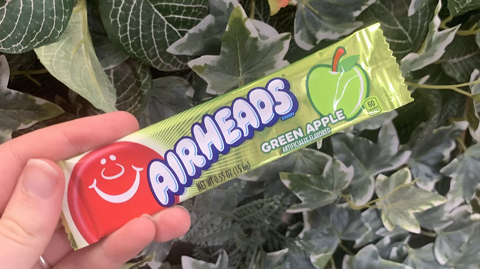 Airheads Green Apple American Candy