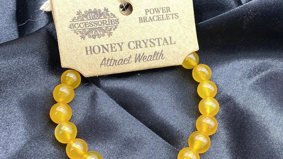 Honey Calcite Bracelet