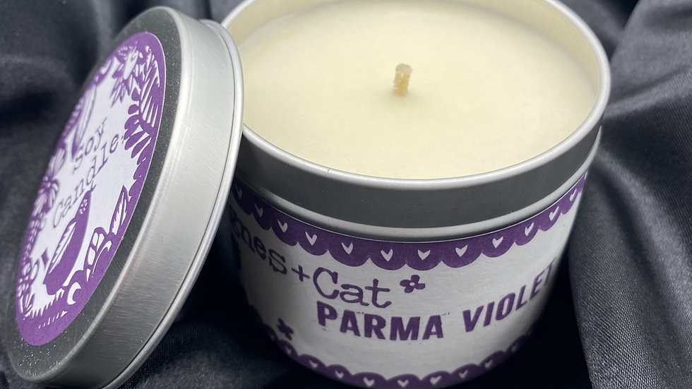Parma Violet  - Soy Wax Candle