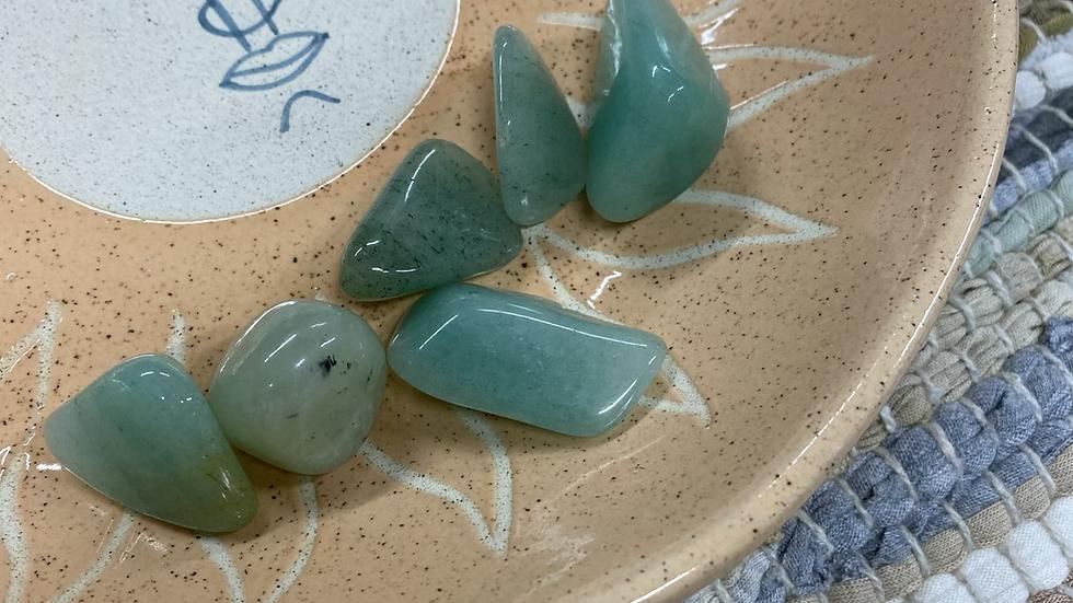 1pcs Aventurine Tumble Stone