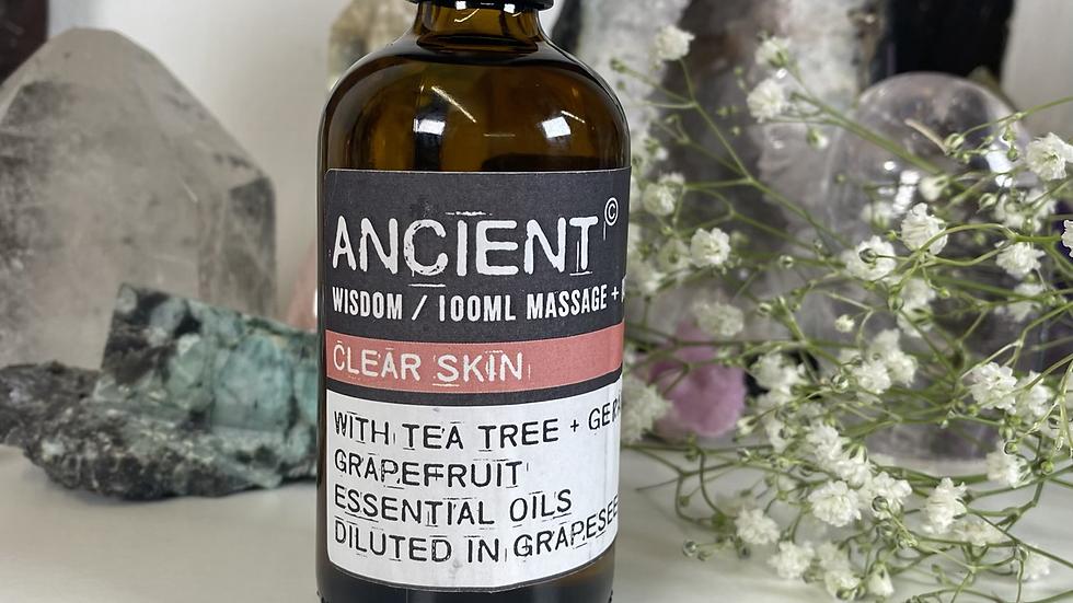 Clear Skin 100ml Massage & Bath Oil