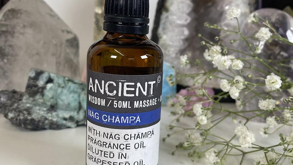 Nag Champa 50ml Massage & Bath Oil