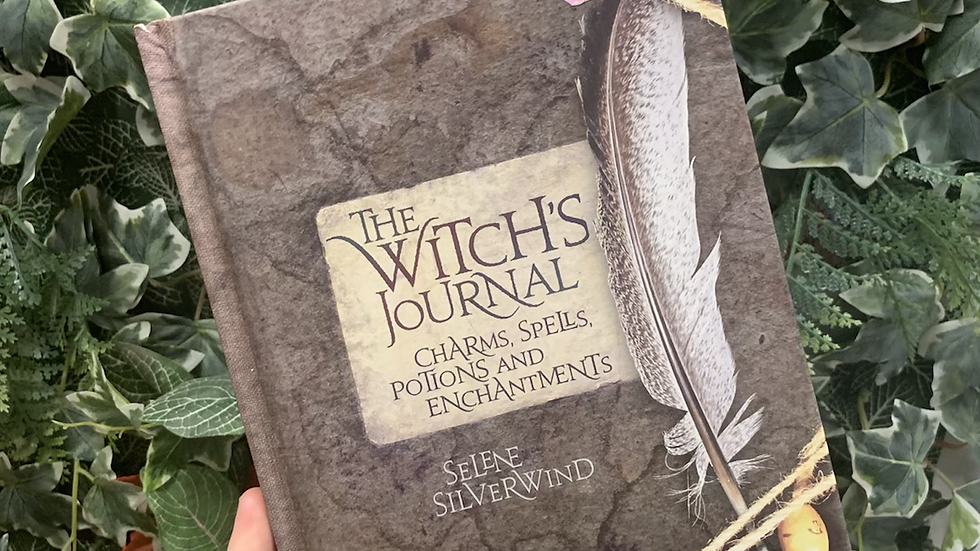 Witch's Journal Book