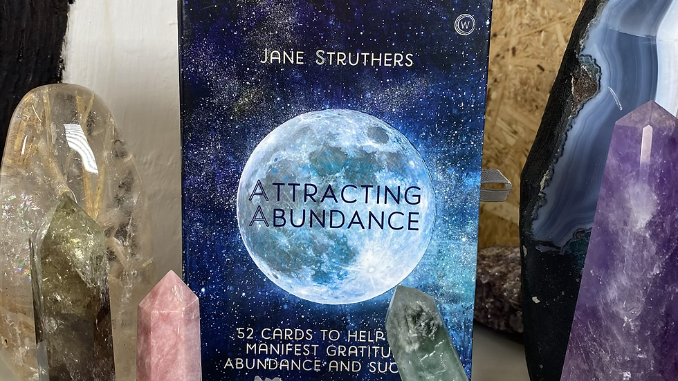 Attracting Abundance Oracle Cards