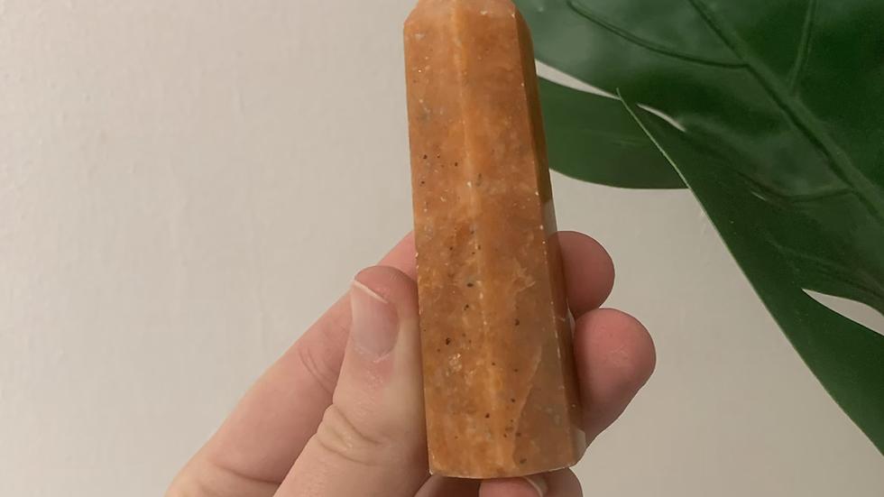 Orange Calcite Tower