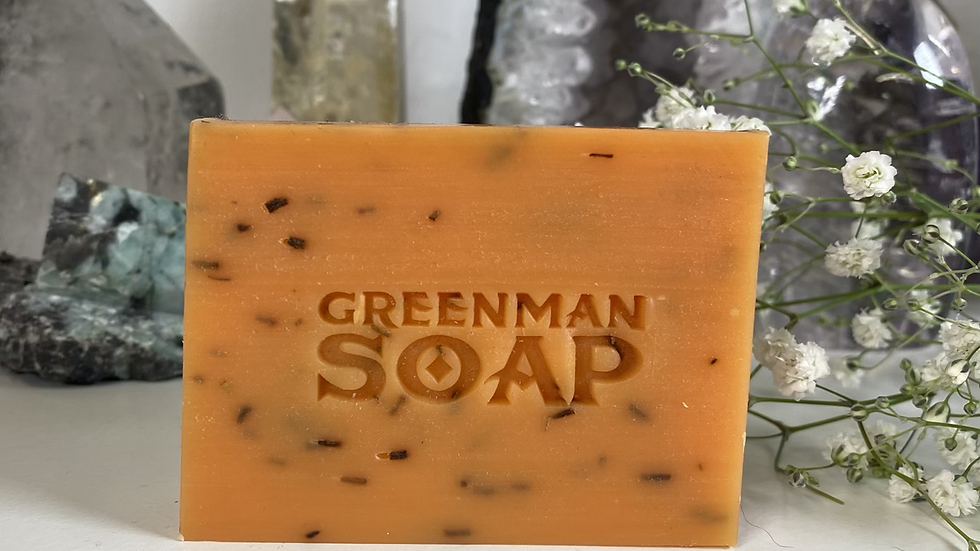 Argan & Rosemary Vegan Greenman Soap