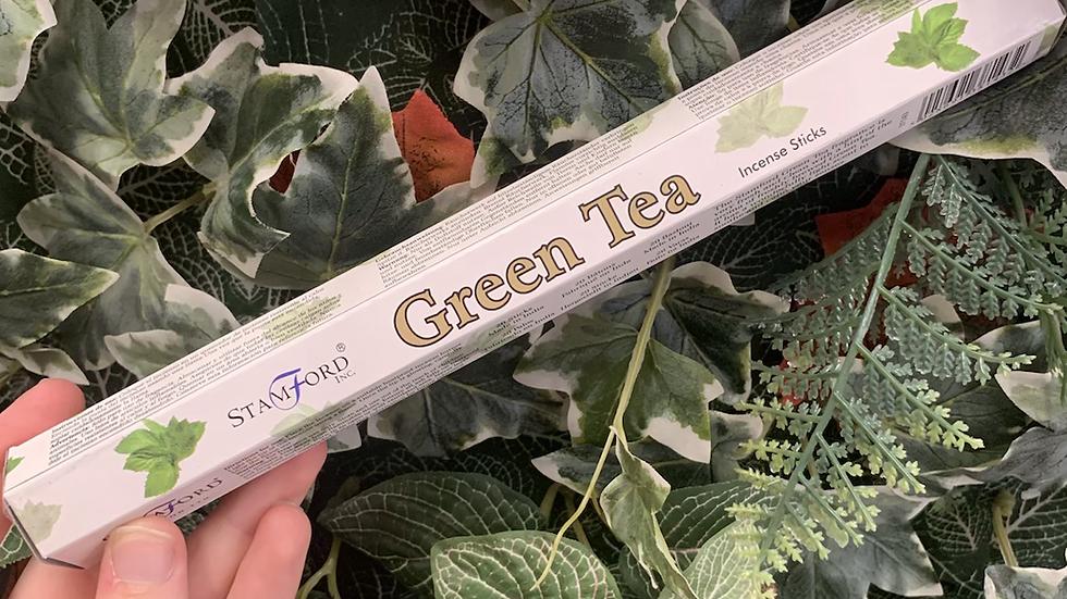 Stamford Green Tea Incense Sticks