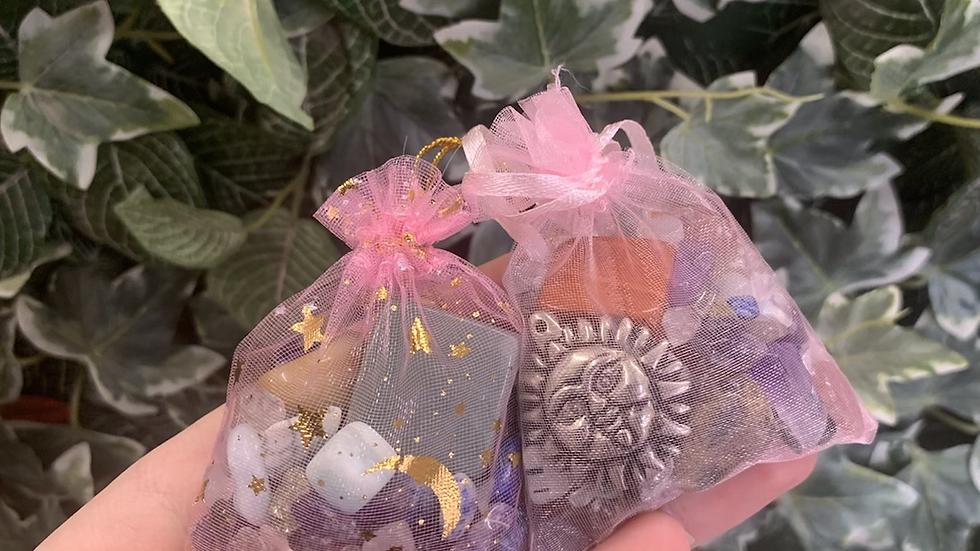 Crystal Confetti Bag