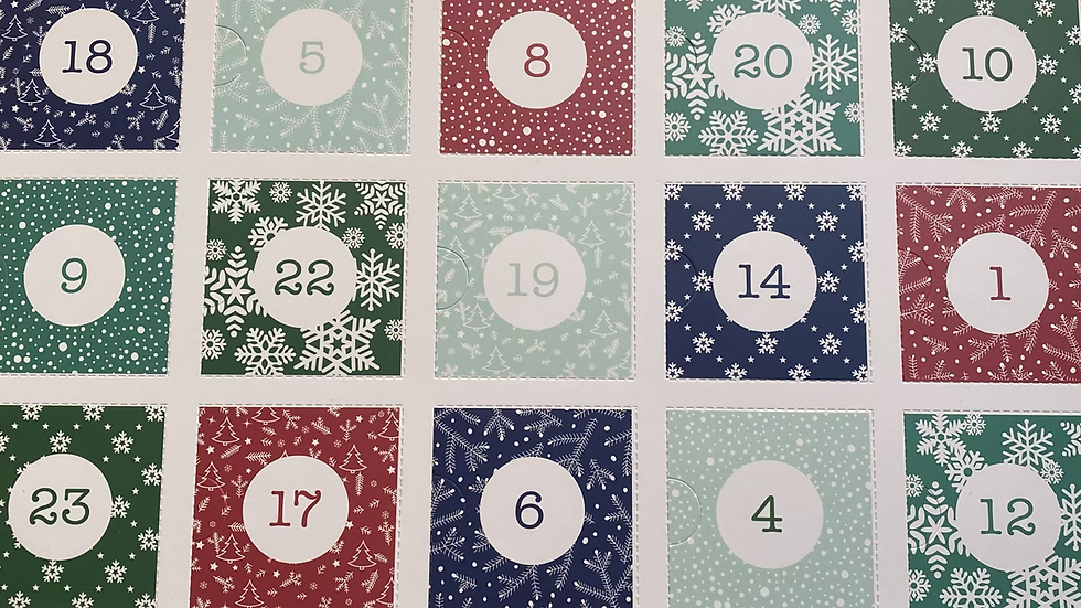 24 Day Advent Calendar * COLLECTION ONLY*