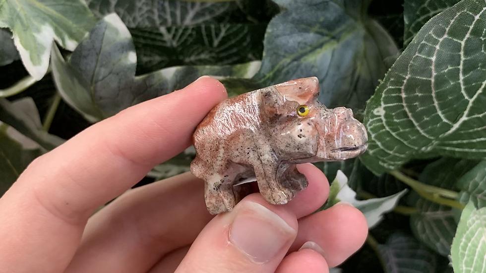 Pig / Waterhog Animal Carving