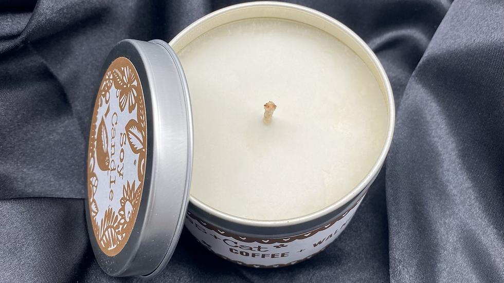 Coffee + Walnut - Soy Wax Candle