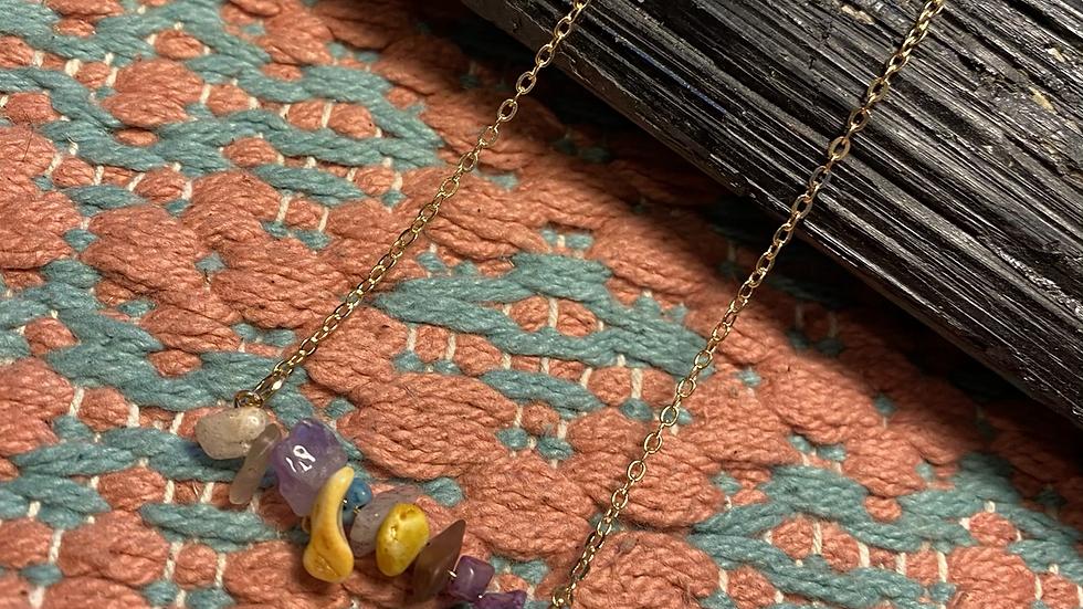 Mixed Gemstone Necklace