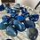 Thumbnail: Blue Striped Agate Tumble Stone