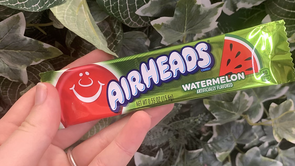 Airheads Watermelon American Candy