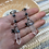 Thumbnail: Clear Quartz Larkivite Earrings