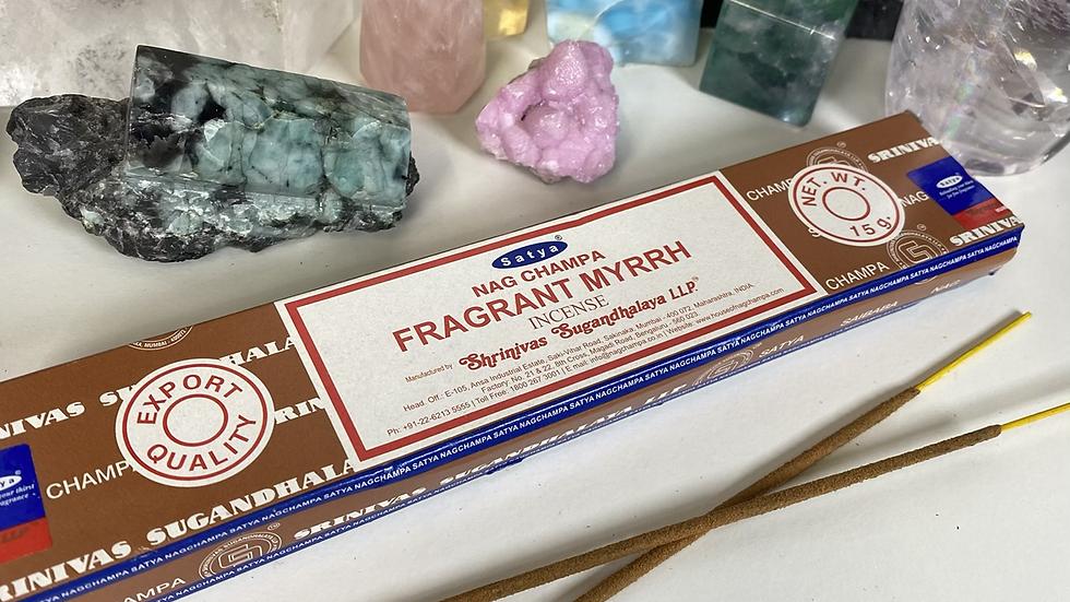 Fragrant Myrrh Incense