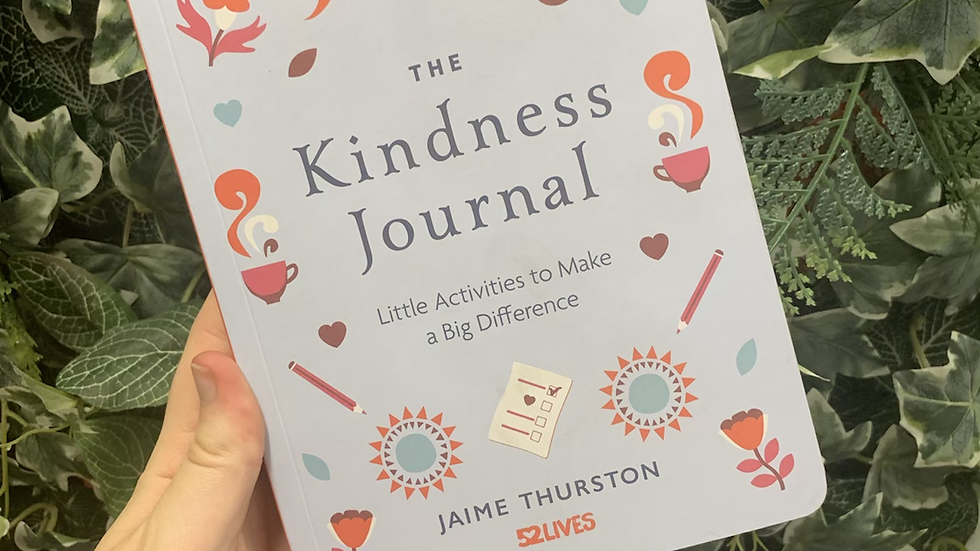 The Kindness Journal Book