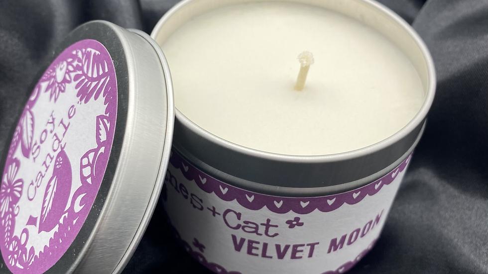 Velvet Moon - Soy Wax Candle