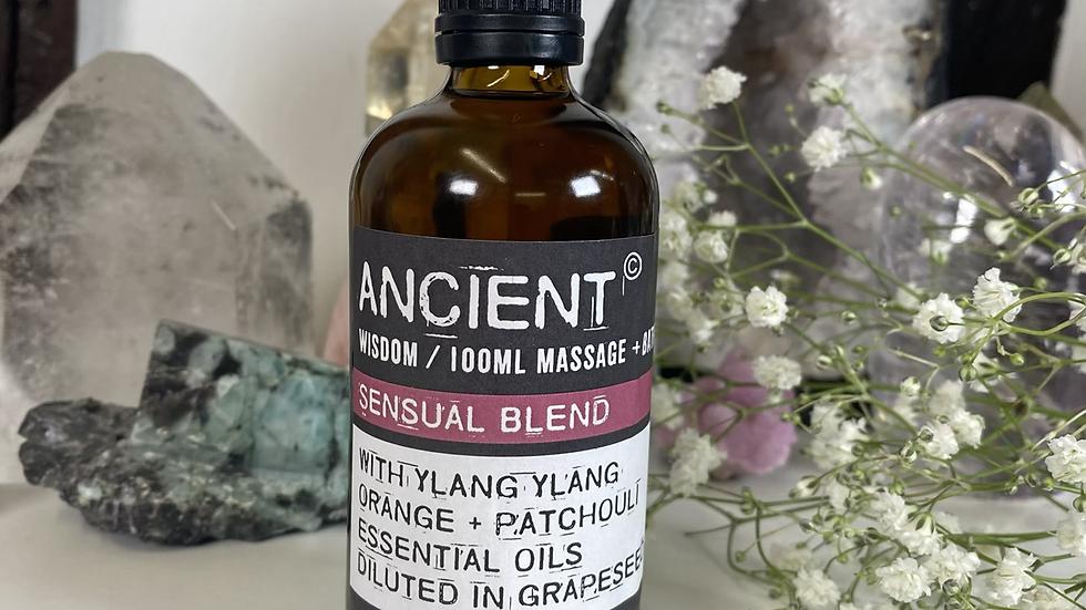 Sensual Blend 100ml Massage & Bath Oil
