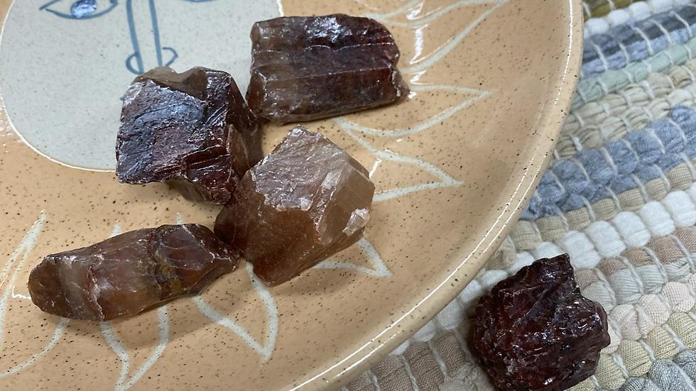 1pcs Rough Red Calcite