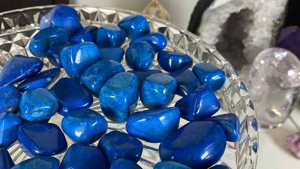 Blue Howlite Tumble Stone