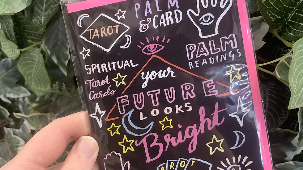 Your Future Looks Bright Greetings Card