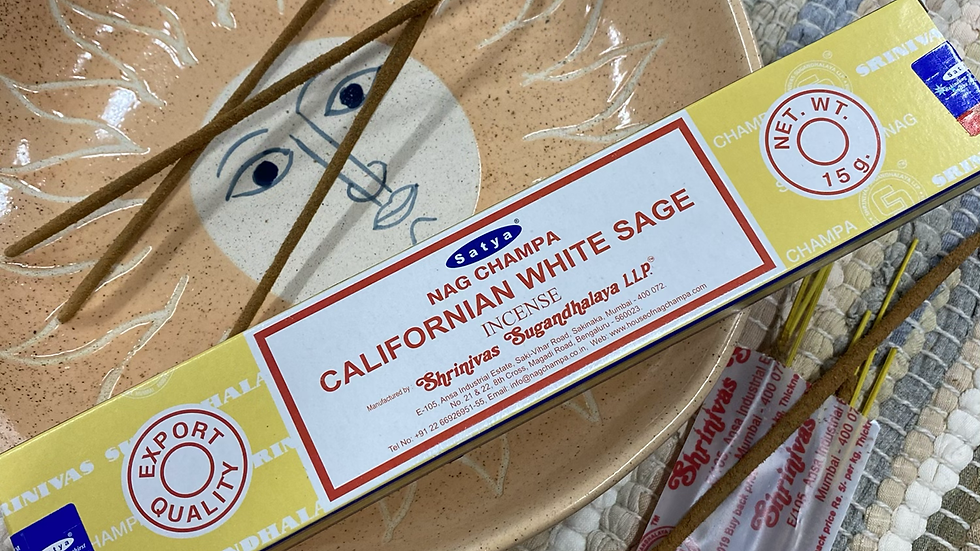 Satya Californian White Sage Incense Sticks