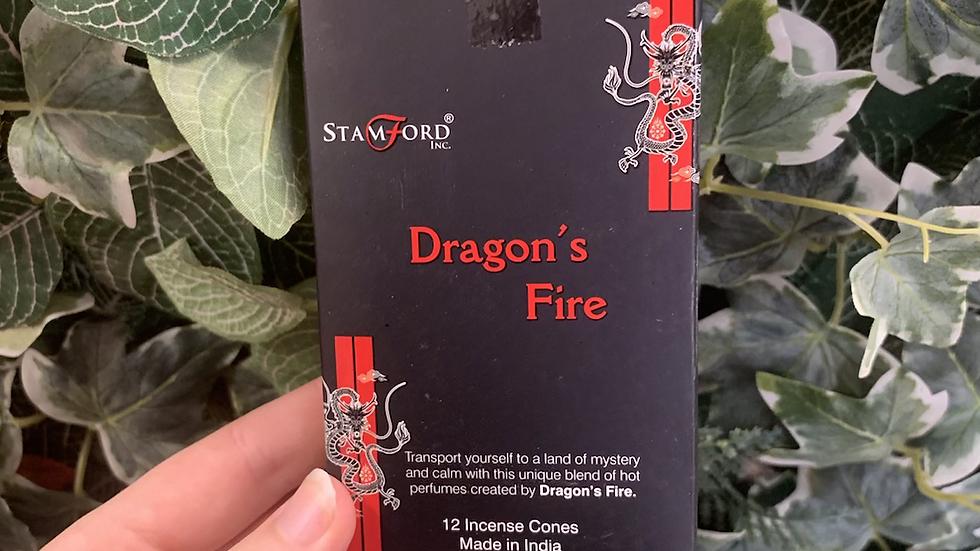 Dragons Fire Incense Cones